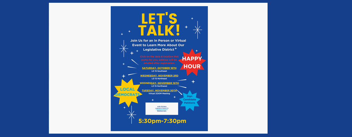 LET'S TALK! Events