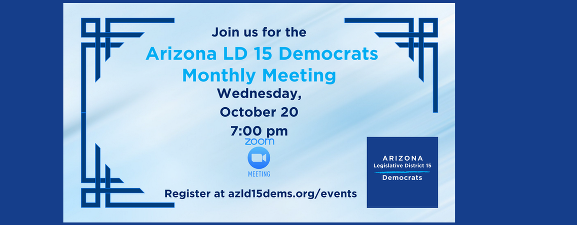 Join Us for our Monthly Meeting!
